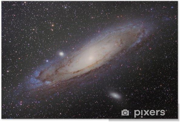 Póster Galaxia de Andrómeda - Universo