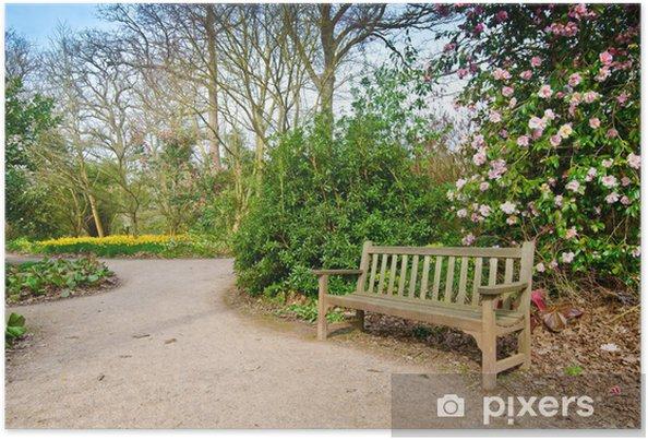 Poster Garden path - Bâtiments publics