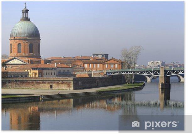 Poster Garonne et bâtiment historique - Beauté et soins du corps