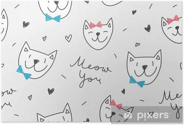 Dibujos De Caras De Gatos