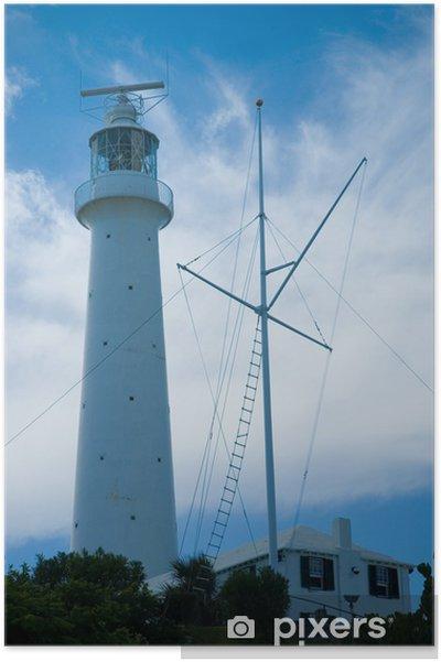 Poster Gibbs colline phare - Infrastructures