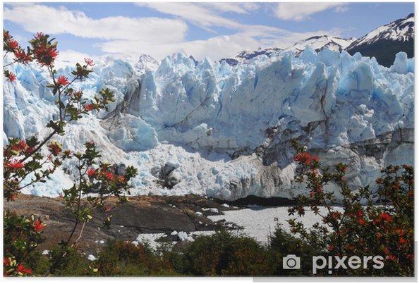 Poster Glacier perito moreno - Amérique