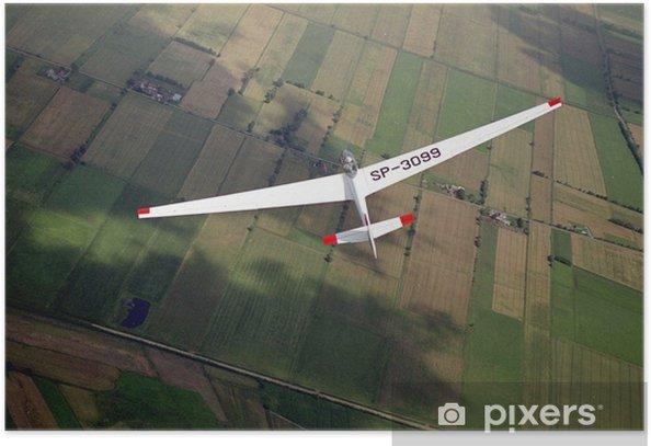 Poster Glider - Lucht