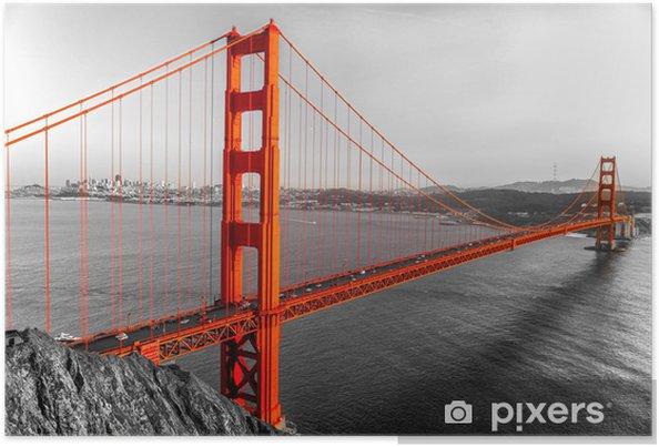 Poster Golden Gate, San Francisco, Californie, USA. - Styles