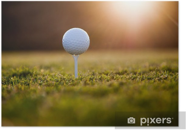 Golf ball Poster - Golf
