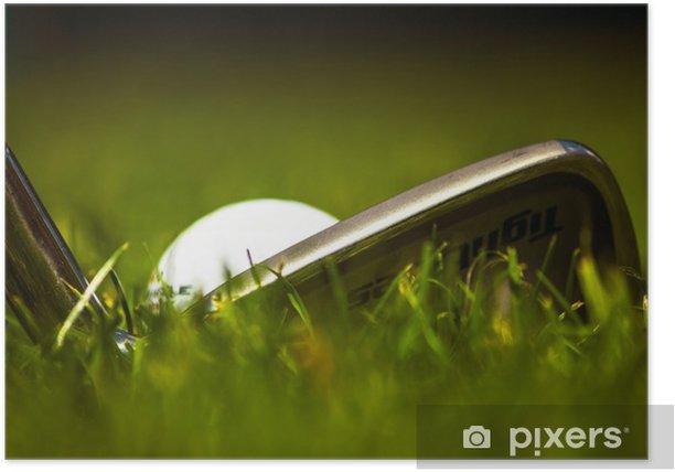 Poster Golf - Thèmes