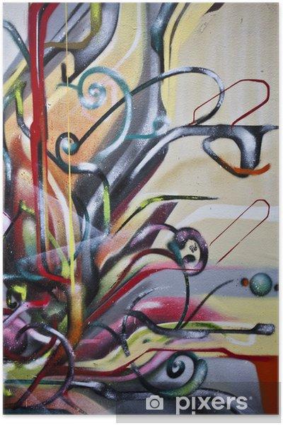 Poster Graffiti abstrait - Thèmes