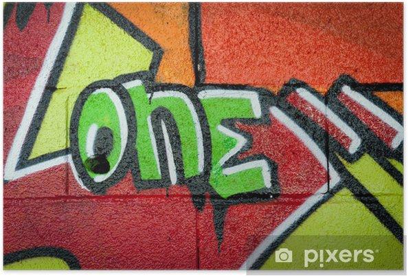 Poster Graffiti One - Thèmes