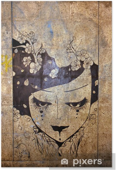 graffiti - street art Poster - iStaging
