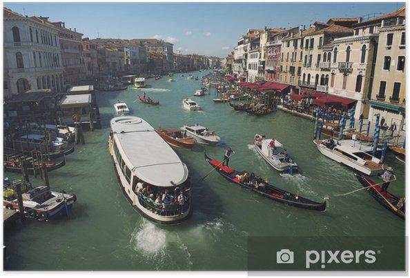 Poster Grand Canal de Venise Morning View - Vacances