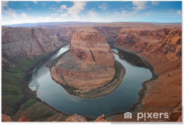 Poster Grand Canyon, Horse Shoe Bend - Amerika