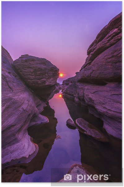 Poster Grand Canyon in Thailand genaamd Sam-Pan-Bok -