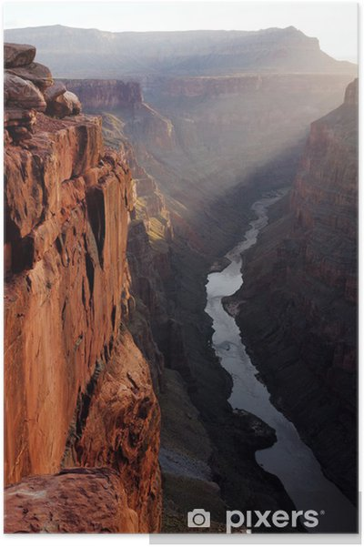 Poster Grand Canyon Toroweap Point Sunrise - Amerika