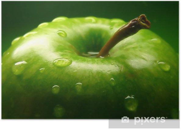green apple Poster -