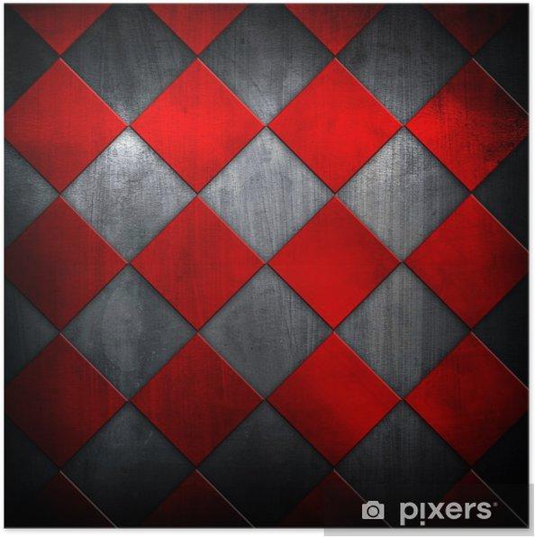 Poster Grille métallique - Textures