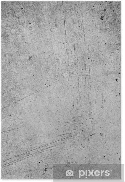 Poster Gris mur - Thèmes