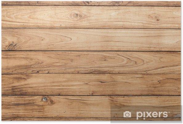 Houten Plank Voor Aan Muur.Poster Grote Bruine Houten Plank Muur Textuur Achtergrond Pixers