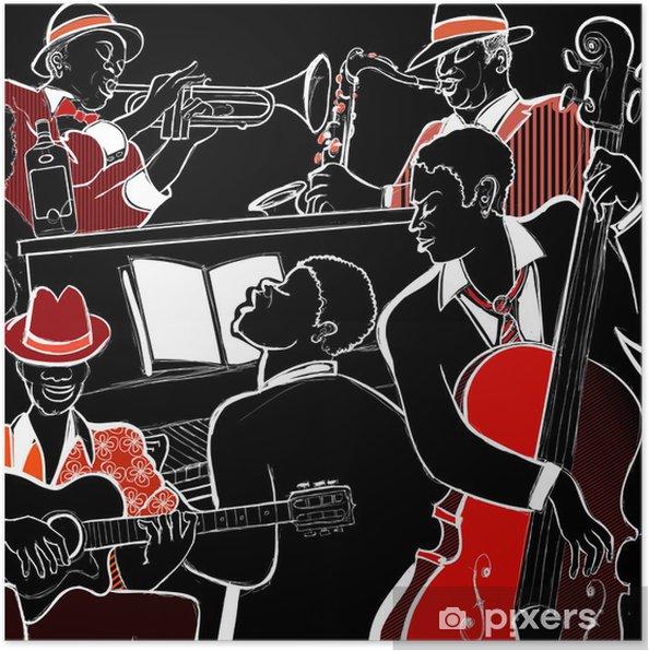 Poster Groupe de jazz - Jazz