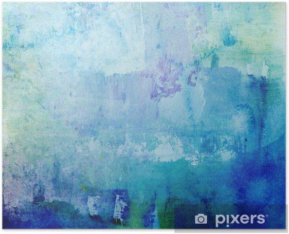 Poster Grunge blob texture - Arrière plans