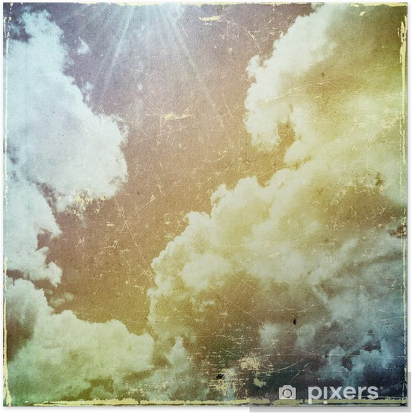 Poster Grunge papper struktur. abstrakt natur bakgrund - Teman