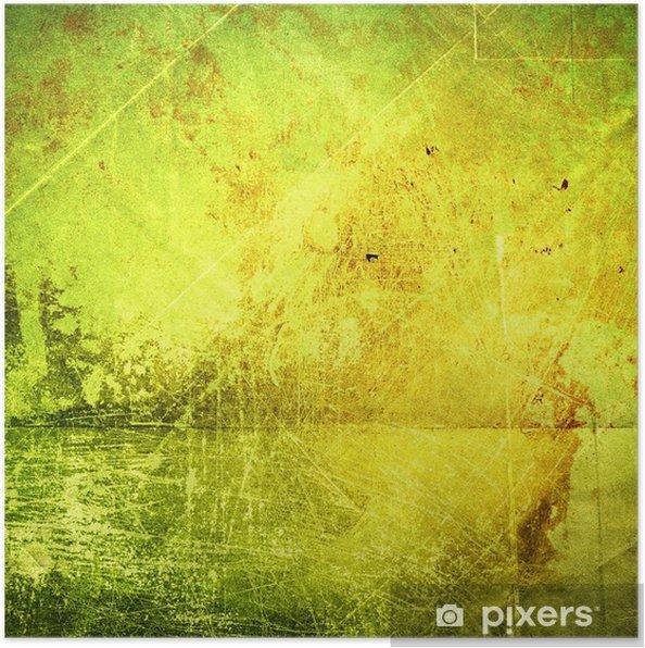 Poster Grunge texture du papier, fond de cru - Art et création