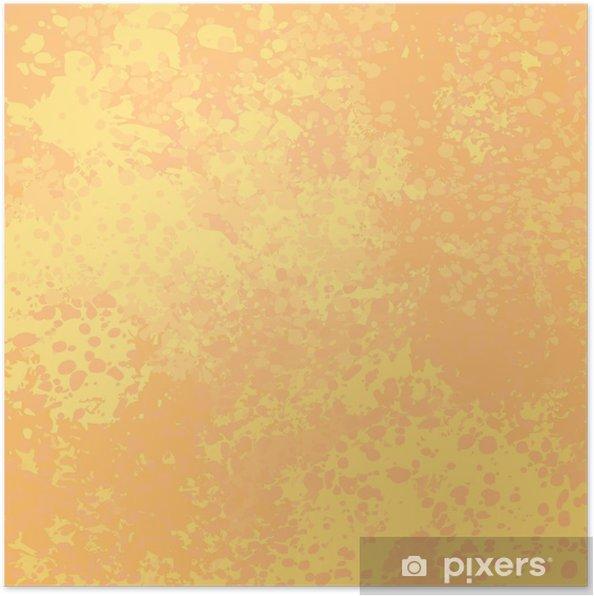 Poster Grunge vecteur de fond dans des couleurs chaudes • Pixers ...