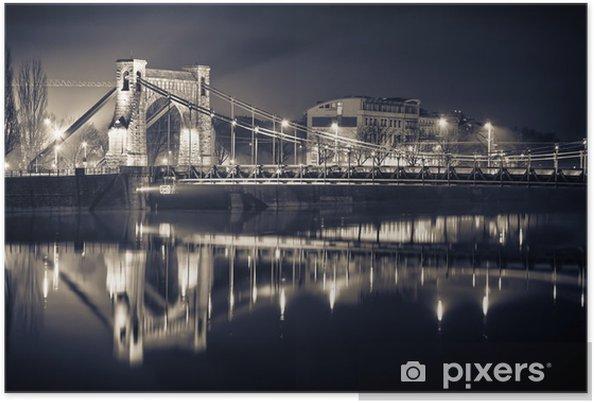 Poster Grunwald pont à Wroclaw -