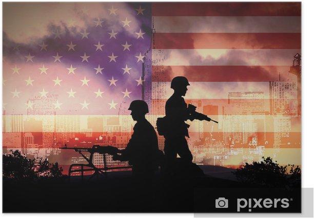 Poster Guerre - Métiers