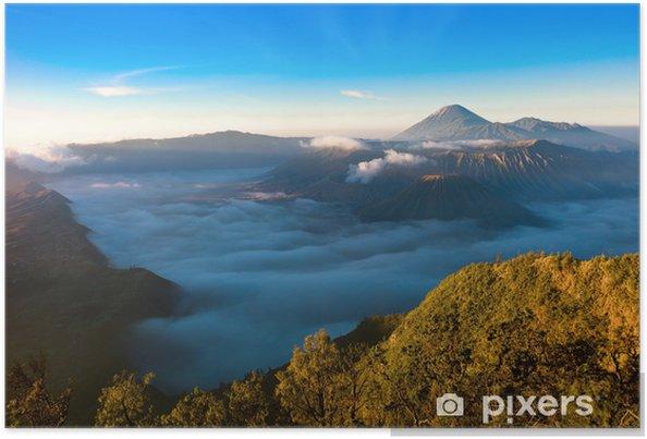 Póster Gunung Bromo Volcano - Asia
