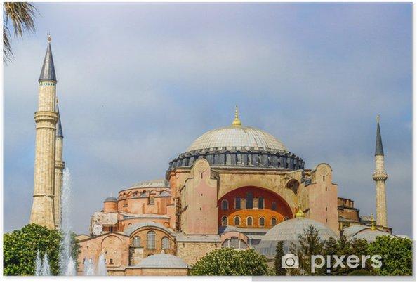 Poster Hagia Sophia Istanbul Turquie - Europe