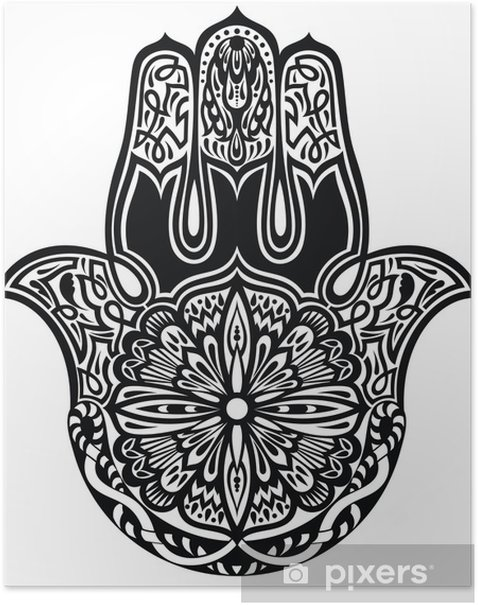Poster Hamsa main - Religion