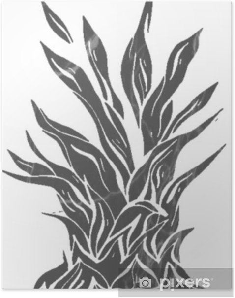 hand drawn vector abstract textured round geometric minimalism