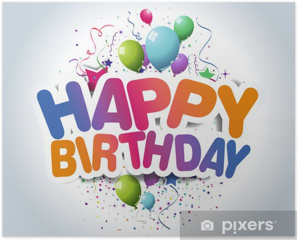 happy birthday poster pixers we live to change