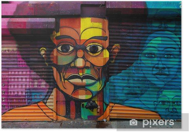 Poster Harlem Graffiti - Thèmes