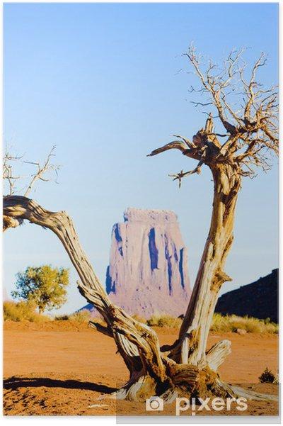 Poster Het Venster van het noorden, Monument Valley NP, Utah-Arizona, USA - Amerika