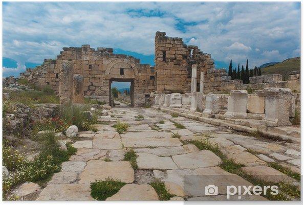 Poster Hierapolis - Asie