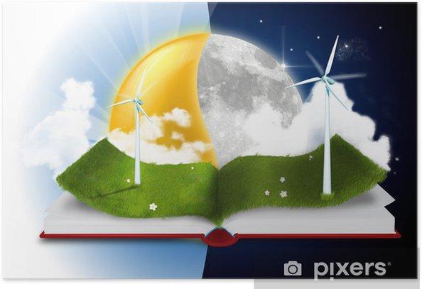 Poster Histoire du livre - Ecologie