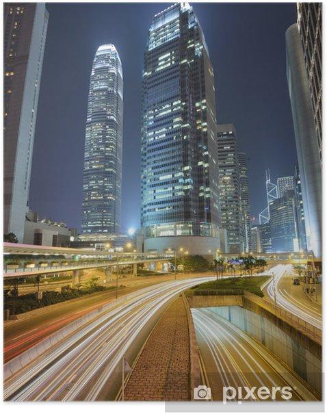 Poster Hong Kong International Financial Center - Thema's
