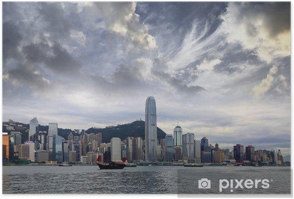 Poster Hong-Kong - Villes d'Asie