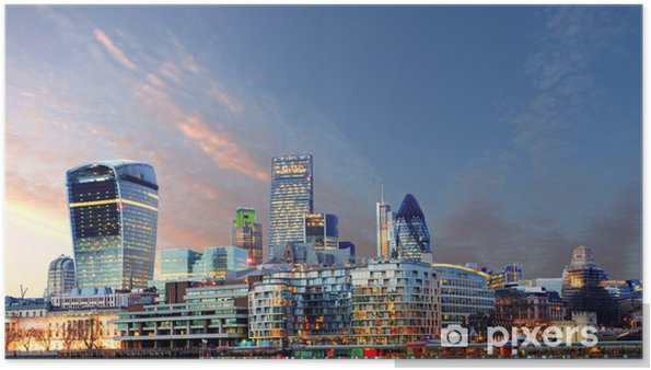 Poster Horizon de Londres - Thèmes