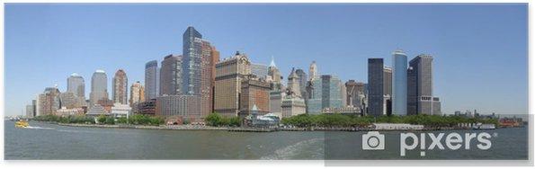 Poster Horizon de New York - Thèmes