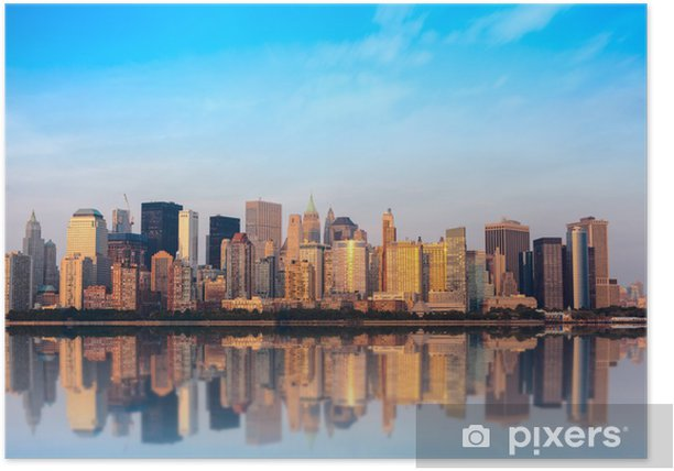 Poster Horizon de New York - New York