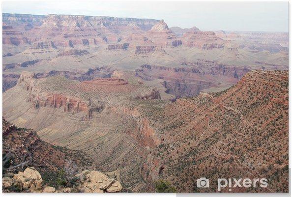 Poster Horseshoe Mesa de Grandview Trail, Grand Canyon, Arizona - Amérique