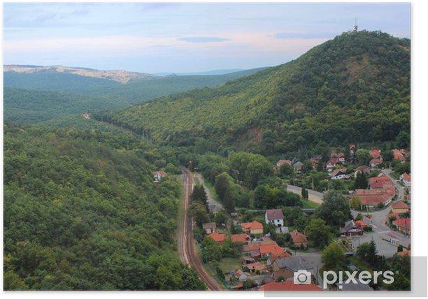 Hungarian landscape Poster - Forests