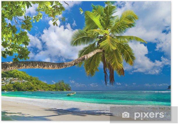 Idyllic tropical scenery - Seychelles Poster - Themes