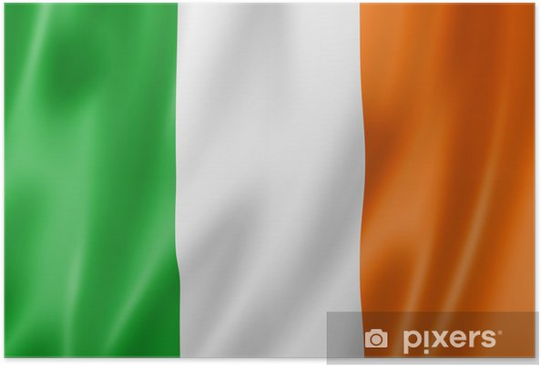 poster ierse vlag • pixers® - we leven om te veranderen