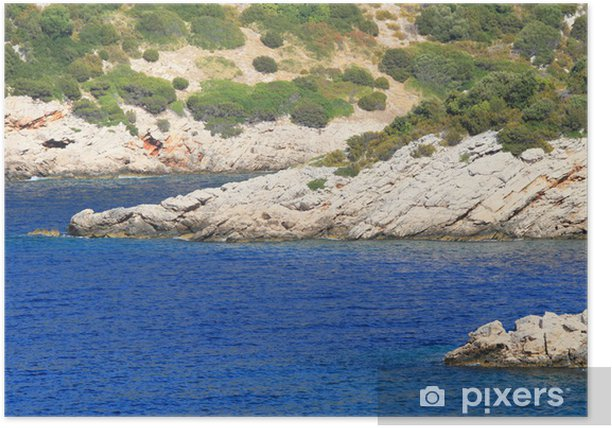 Poster Îles Kornati - Europe