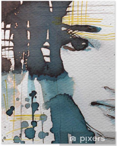 Poster Illustration d'aquarelle - Styles