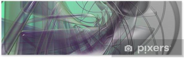 Póster Ilustración abstracta - Fondos