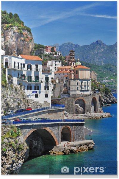 Poster Incroyable Italie, Atrani (côte d'Amalfi) - Thèmes